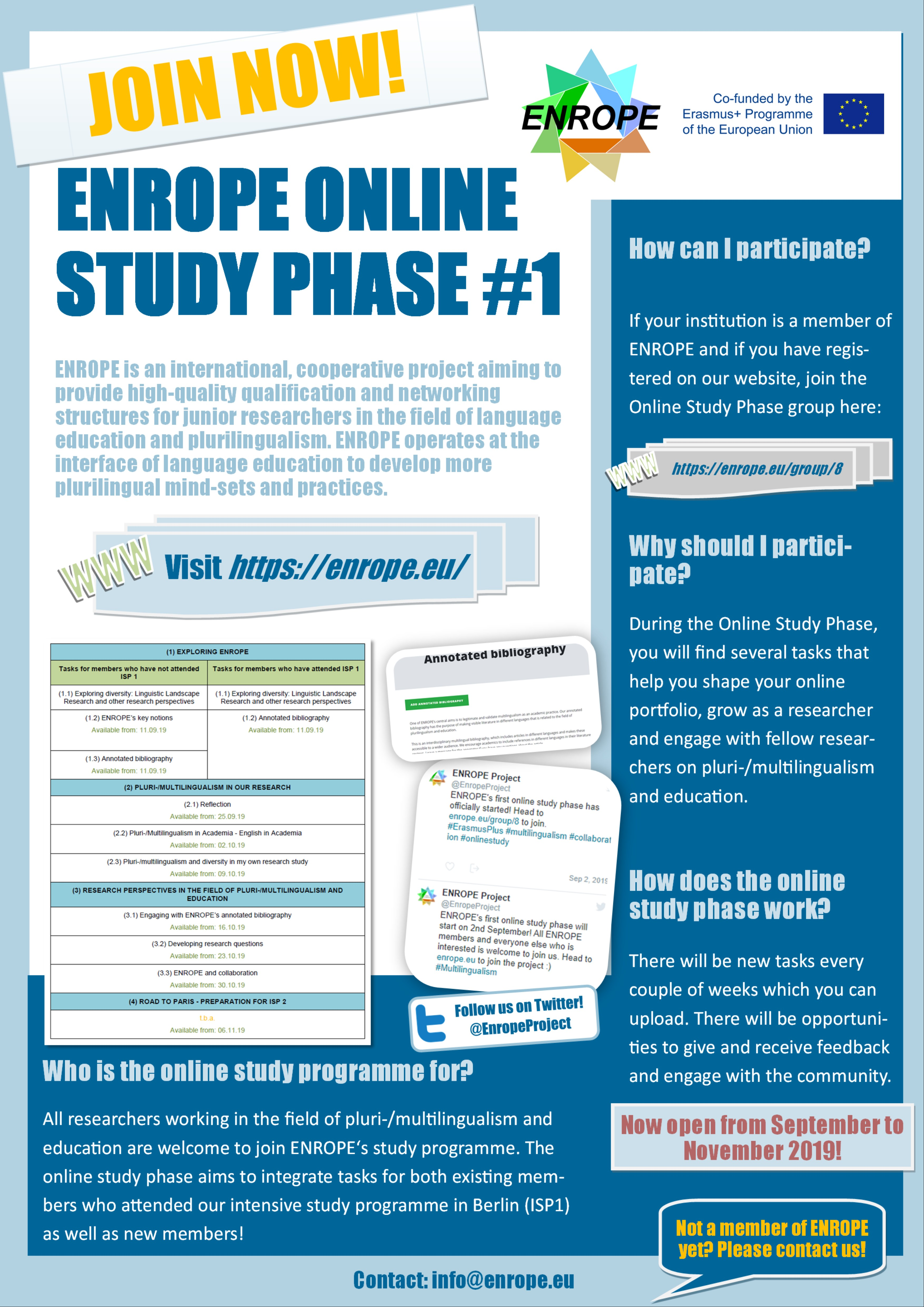 Online Study Phase poster