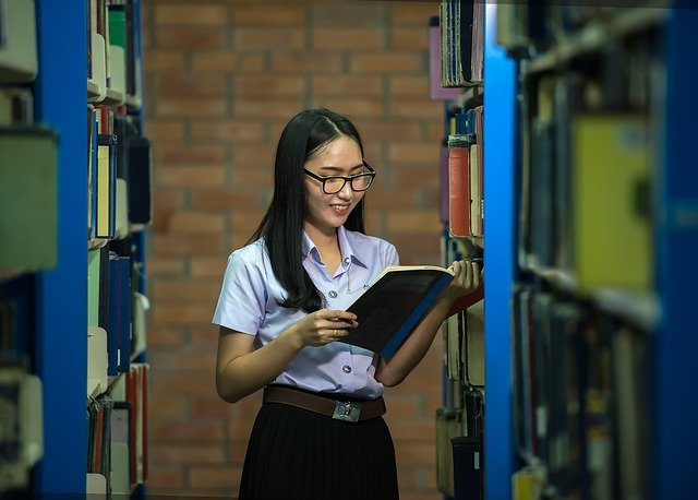 Library (photo: Sasin Tipchai / Pixabay)